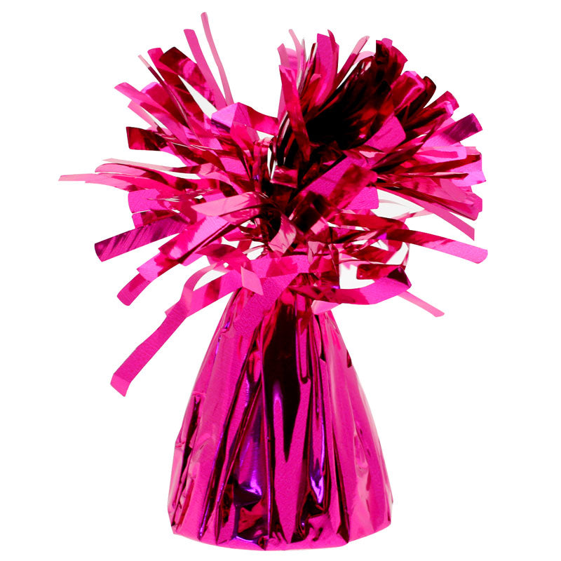 Magenta Pink Foil Balloon Weight, SE-Surprize Enterprize, Putti Fine Furnishings