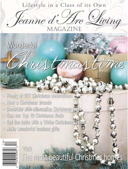 Jeanne d'Arc Living Magazine December 2015 12th edition, Jeanne d'Arc Living, Putti Fine Furnishings