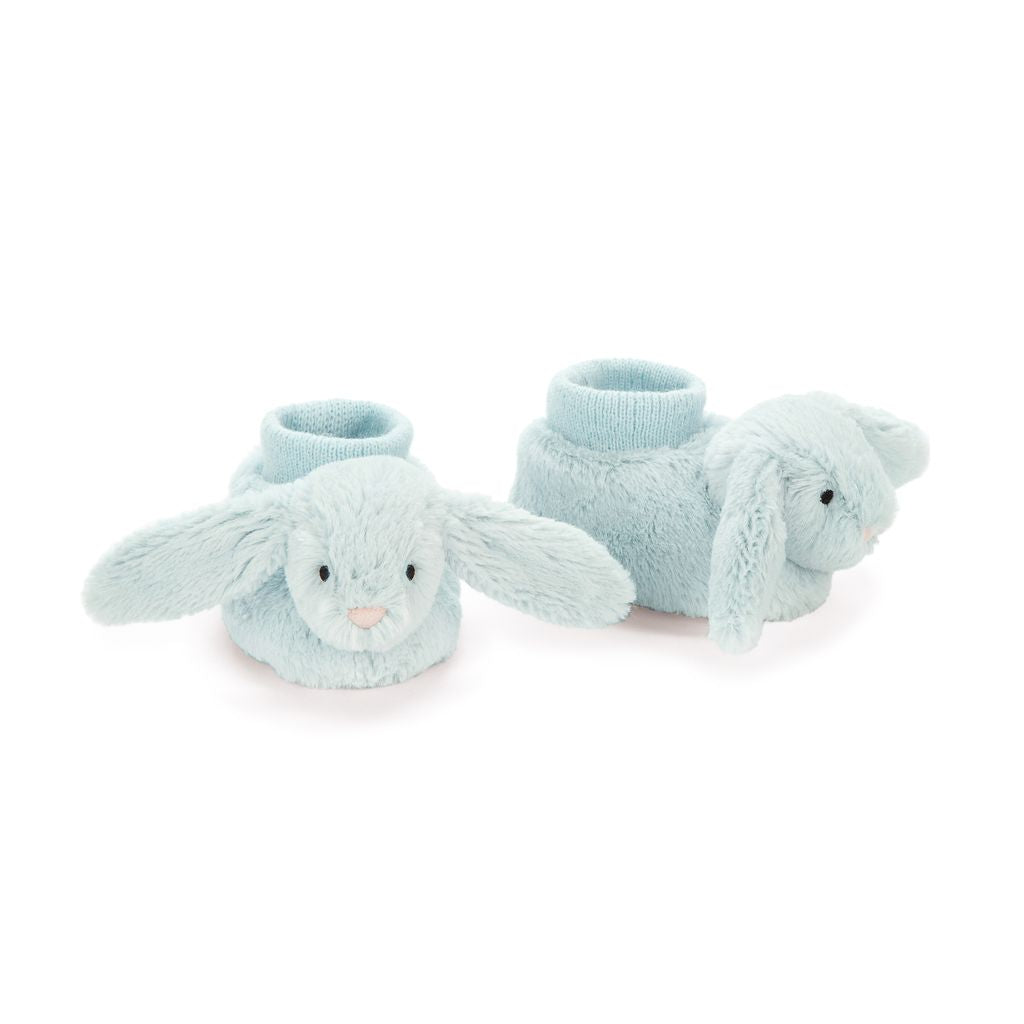 Jellycat Bunny Baby Booties - Bashful Beau  - Le Petite Putti Canada