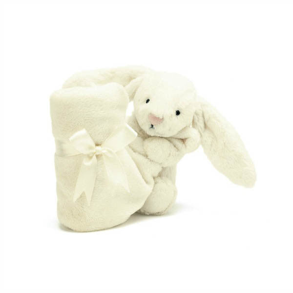 "Jellycat ""Bashful Bunny"" Soother - Cream"