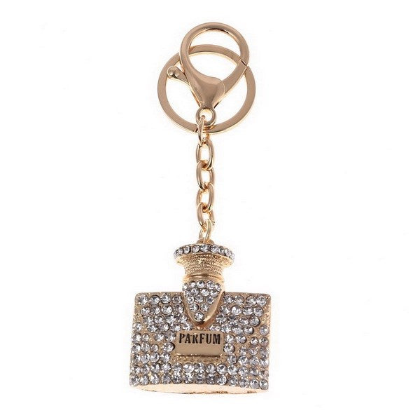 Parfum Crystal Bag Charm Key Chain