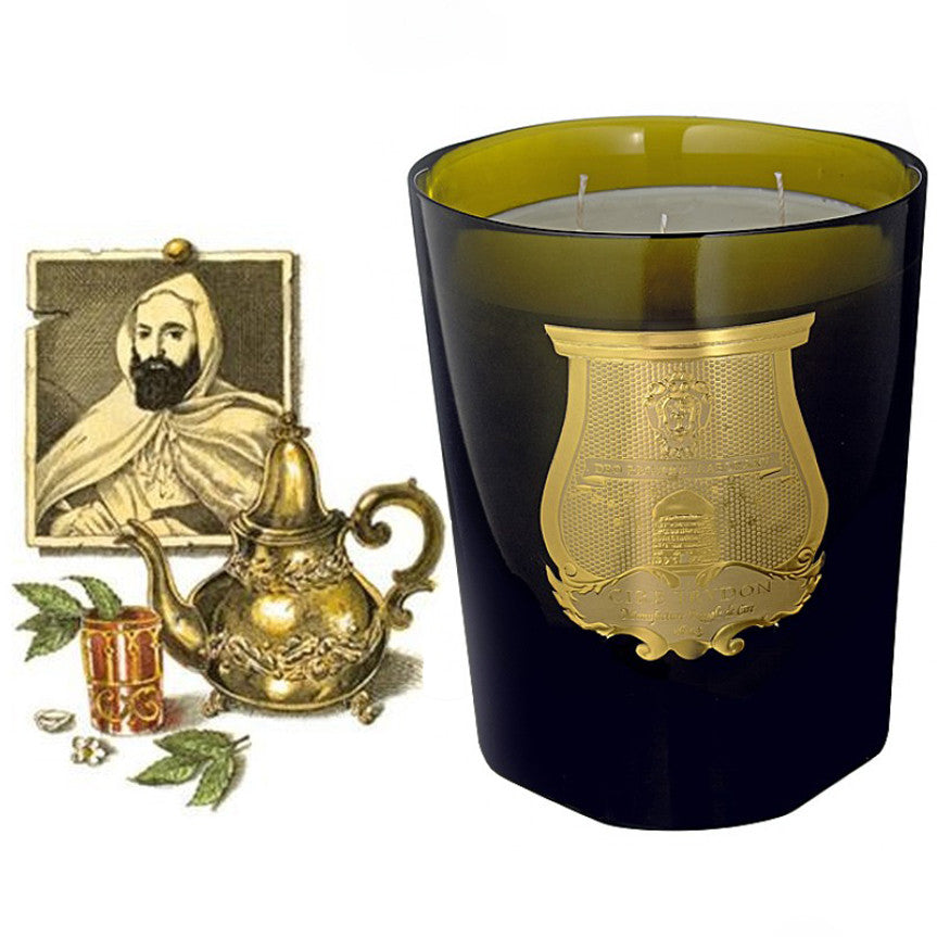 Cire Trudon Grande Candle - Abd El Kadir -  Candles - Cire Trudon - Putti Fine Furnishings Toronto Canada - 1