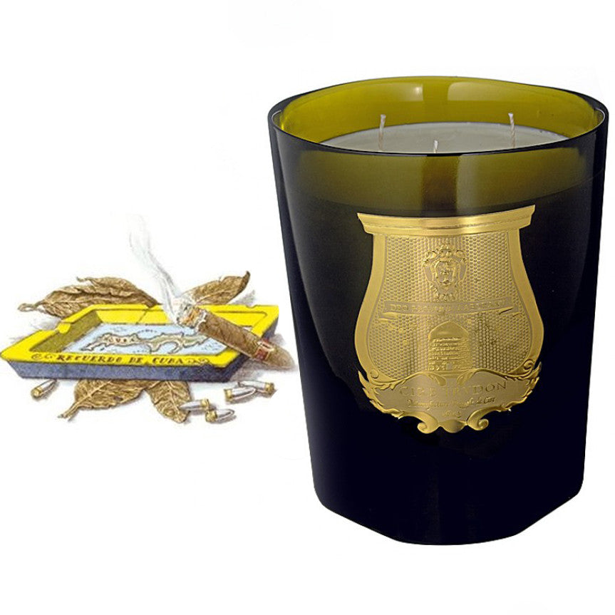 Cire Trudon Grande Candle - Ernesto -  Home Fragrance - Cire Trudon - Putti Fine Furnishings Toronto Canada - 1