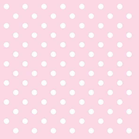 Pink Polka Dots Paper Napkins - Lunch | Putti Party Supplies