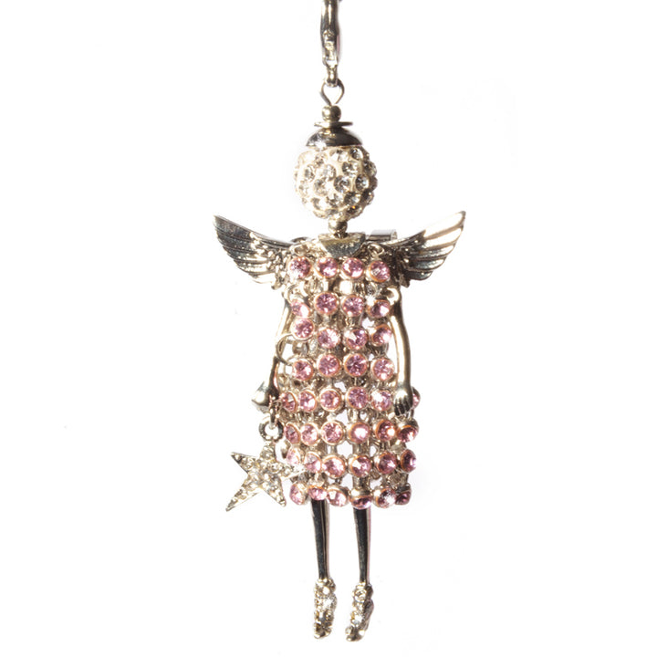 Jacqueline Kent Precious Findings Angel - Guardian Pink Angel