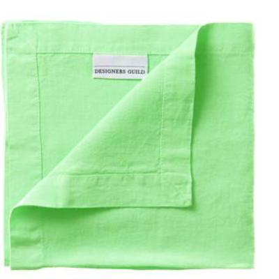 "Lario Apple - 100% Linen Napkins-Table Linens-DG-Designers Guild-Napkin - 18"" x 18 ""-Putti Fine Furnishings"