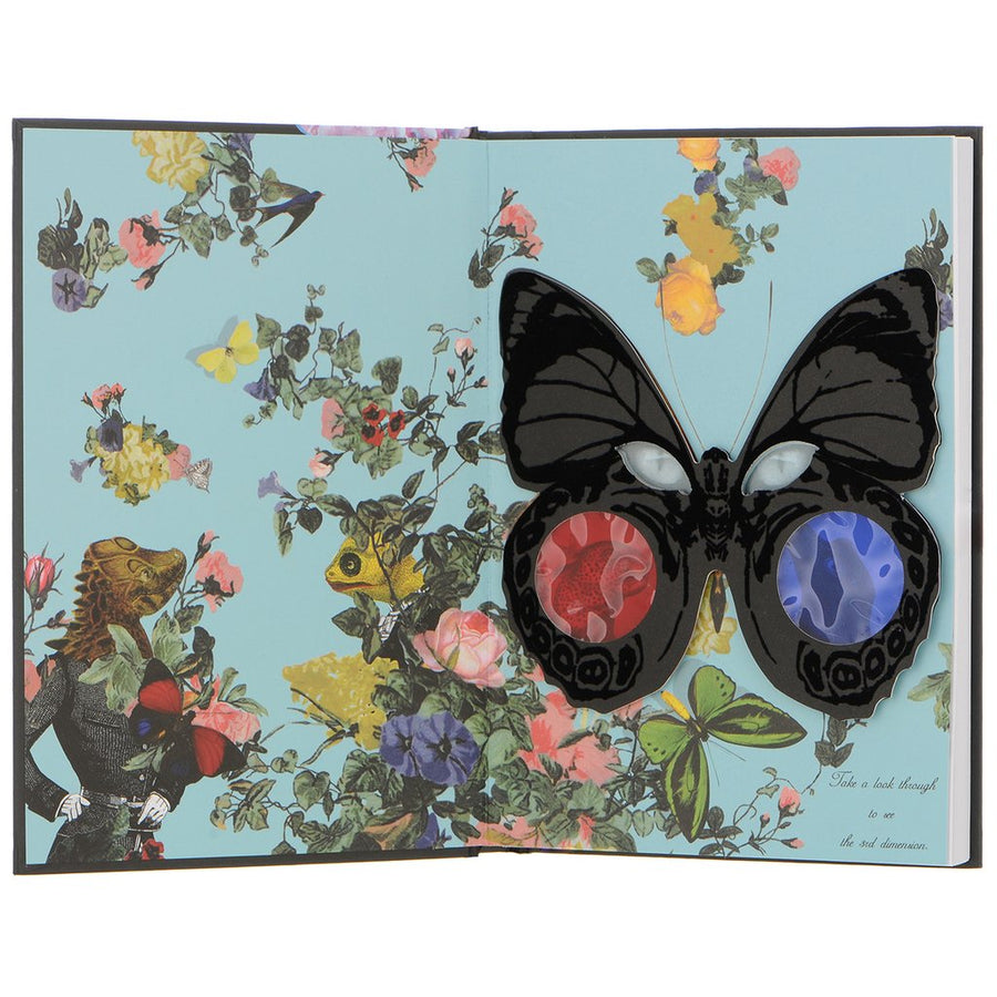 Christian Lacroix Midsize Hardcover Journal - Surrearlistic