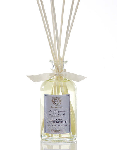 Antica Farmacista Lavender & Lime Blossom Diffuser-Home Fragrance-AF-Antica Farmacista-100ml Lavender Diffuser - Special Order 2 weeks-Putti Fine Furnishings