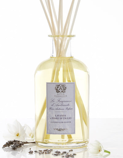 Antica Farmacista Lavender & Lime Blossom Diffuser-Home Fragrance-AF-Antica Farmacista-Putti Fine Furnishings