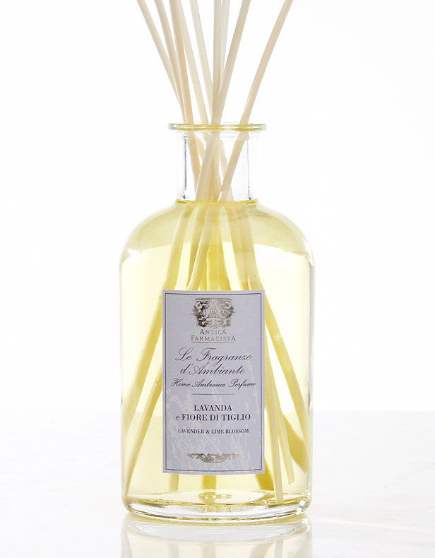 Antica Farmacista Lavender & Lime Blossom Diffuser-Home Fragrance-AF-Antica Farmacista-500ml Lavender Diffuser - Special order 2 weeks-Putti Fine Furnishings