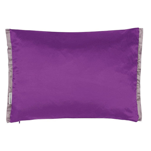 Designers Guild Leighton Damson Throw Pillow