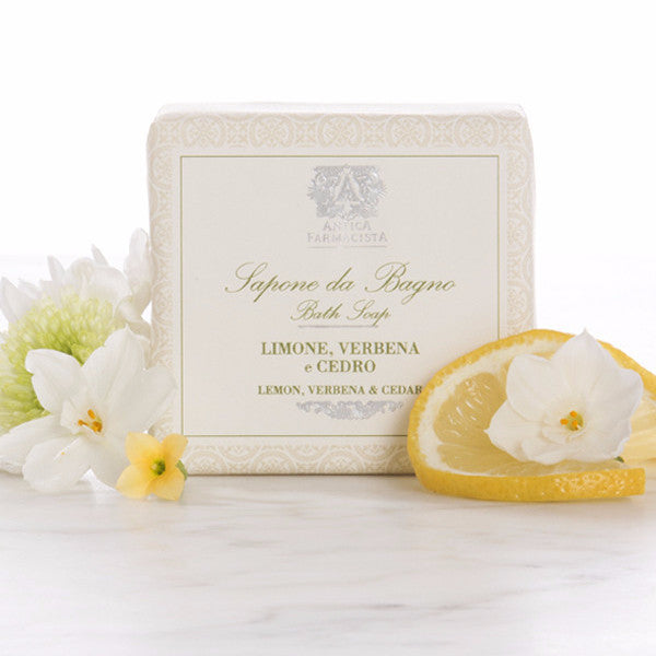 Antica Farmacista Lemon,Verbena & Cedar Bar Soap