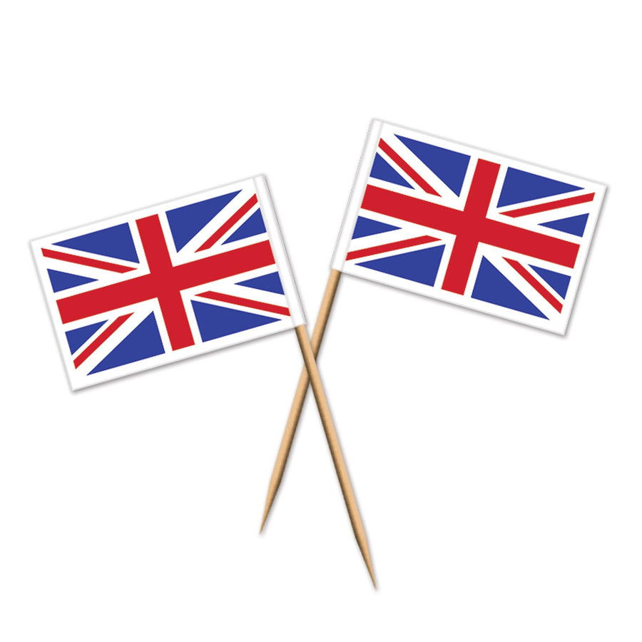 Union Jack Party Picks