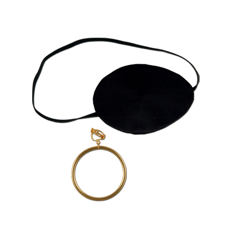 Pirate Eye Patch and Gold Earring, SKS- SKS Novelty, Putti Fine Furnishings
