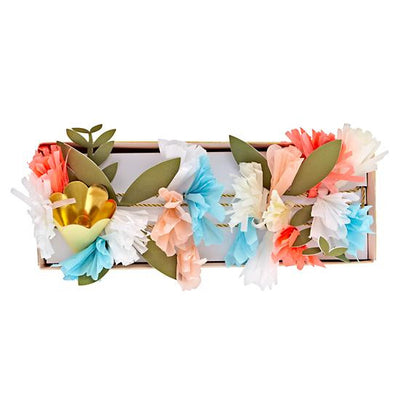 Meri Meri Flower Bouquet Garland -  Party Supplies - Meri Meri UK - Putti Fine Furnishings Toronto Canada - 8