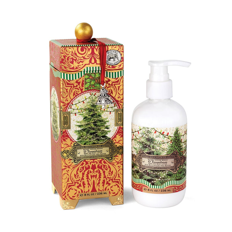 Michel Design Works O Tannenbaum Hand & Body Lotion | Putti Christmas Canada