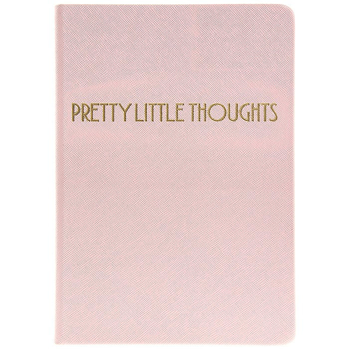 """Pretty Little Thoughts"" Pink Journal"