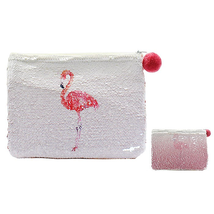 Magic Sequin Flamingo Purse, JDUK-Joe Davies Uk, Putti Fine Furnishings