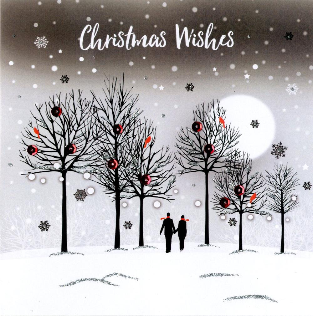 """Christmas Wishes"" Greeting Card"