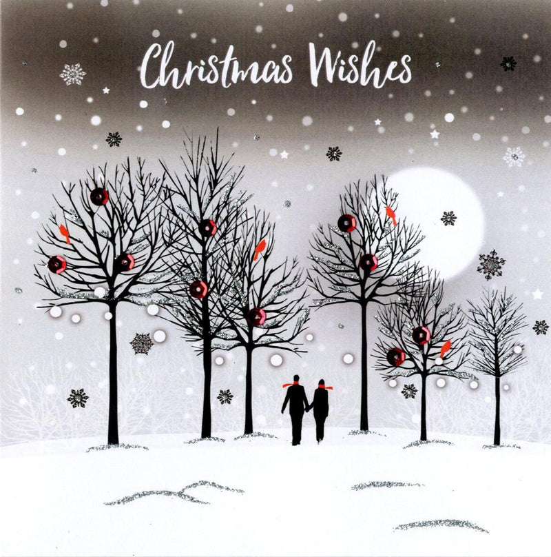 """Christmas Wishes"" Luxury Boxed Greeting Cards"