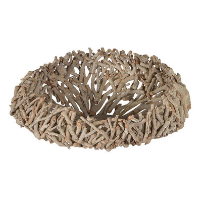 Large Driftwood Bowl-Accessories-Coach House-Putti Fine Furnishings