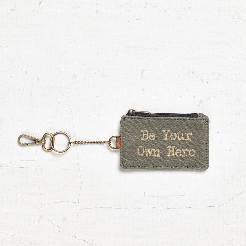 """Be Your Own Hero"" ID Purse"