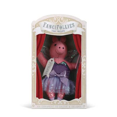 "Fanci Follies ""Priscilla the Pig"" Sugarplum Fairy Ornament  