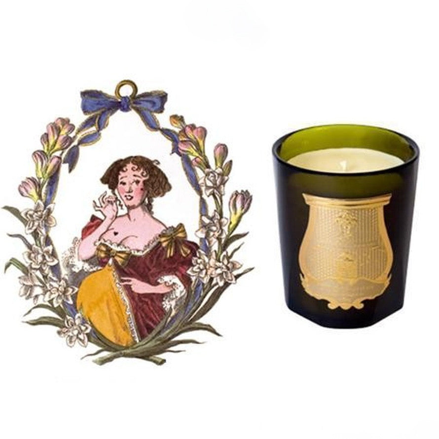 Cire Trudon Candle - Mademoiselle de la Valliere-Home Fragrance-CT-Cire Trudon-Putti Fine Furnishings