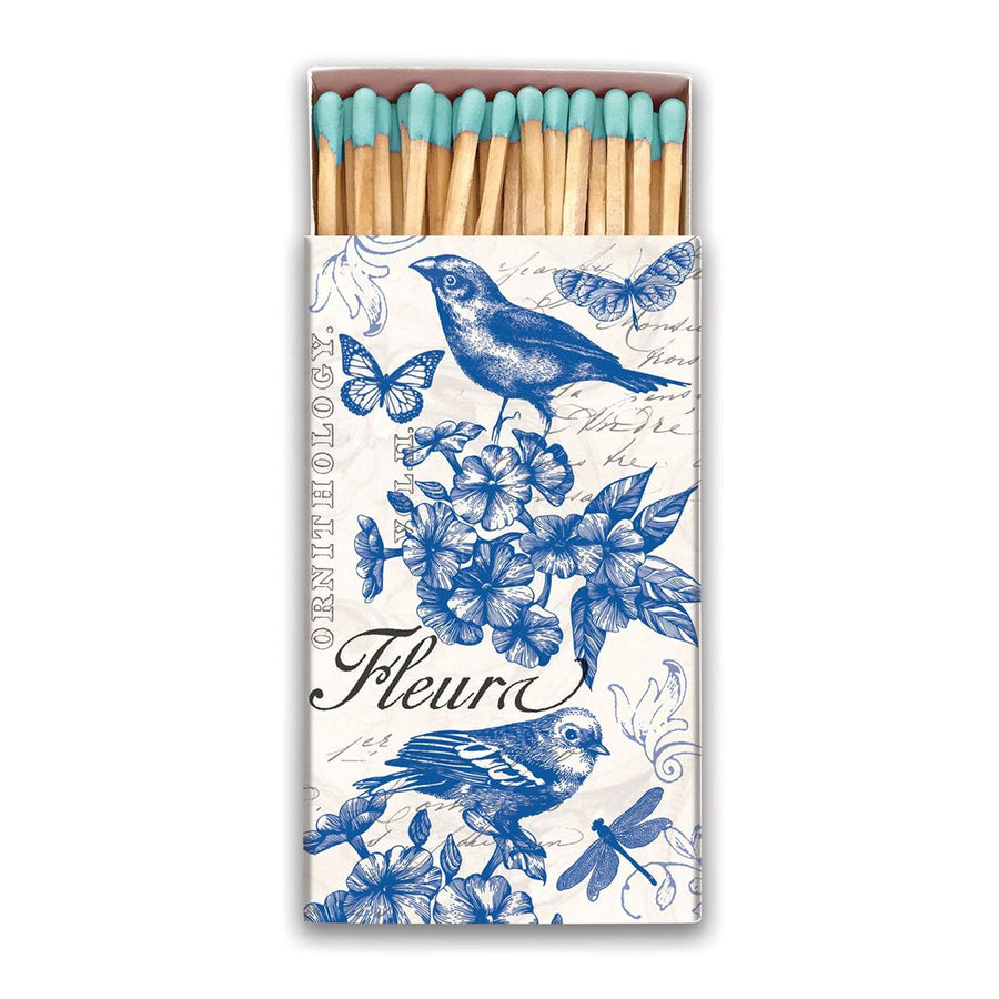 Indigo Cotton Matchbox