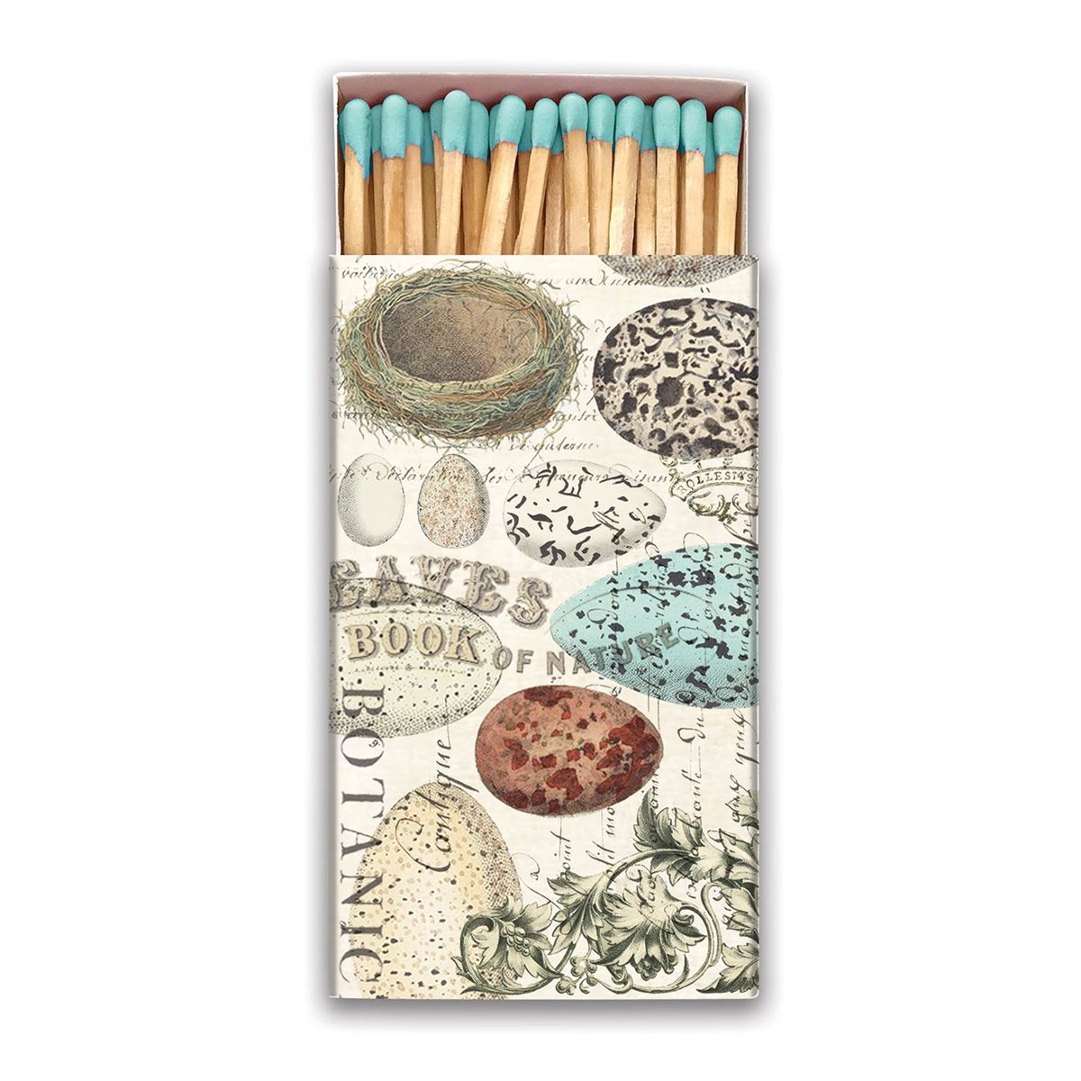 Michel Design Works Nest & Eggs Matchbox
