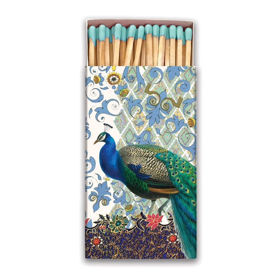 Peacock Matchbox
