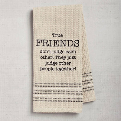 Dry Wit Towel - Friends, MB-Mona B - Design Home, Putti Fine Furnishings