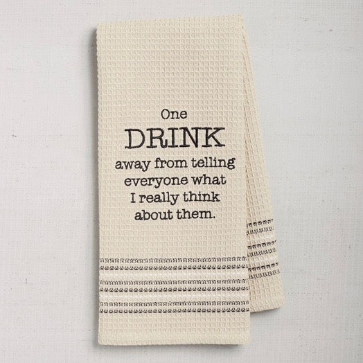 Dry Wit Towel - Really Think