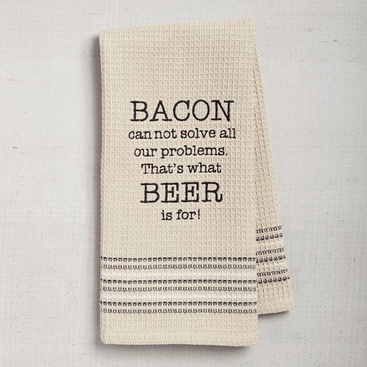 Dry Wit Towel - Bacon