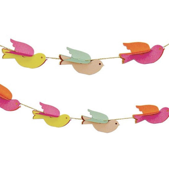 "Meri Meri ""Pretty Birdie"" Mini Garland"