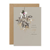 "Stephanie Davies ""Beautiful Wife at Christmas"" Mistletoe Christmas Card 