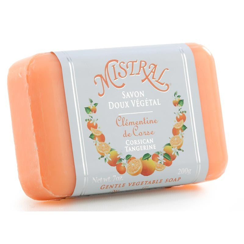 Mistral Classic French Soap - Corsican Tangerine-Bath Products-Mistral-Putti Fine Furnishings