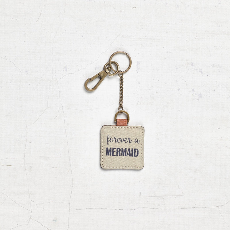 """Forever a Mermaid"" Key Chain"