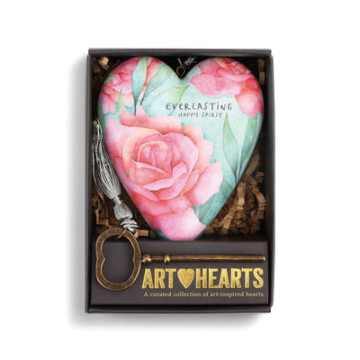 """June"" Rose Birth Flower Art Heart 
