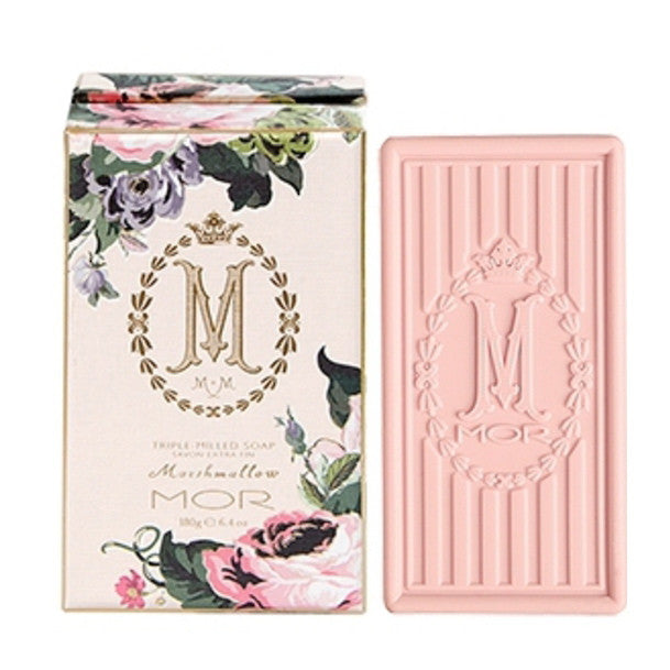 Mor Marshmallow - Triple Milled Soap-Bath Products-MOR- Lothantique MOR-Putti Fine Furnishings
