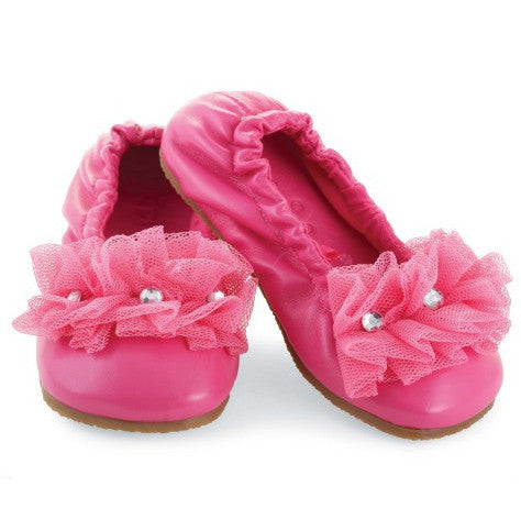 Ballet Flats Hot Pink, MP-Mud Pie, Putti Fine Furnishings