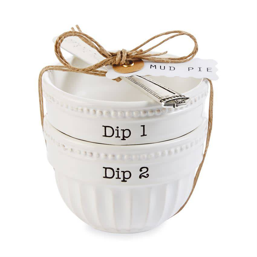 Stacked Dip Cup Set