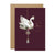 "Stephanie Davies ""Mum at Christmas"" Swan Christmas Card 