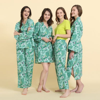 "Mahogany ""Tropical Breeze"" Robe"