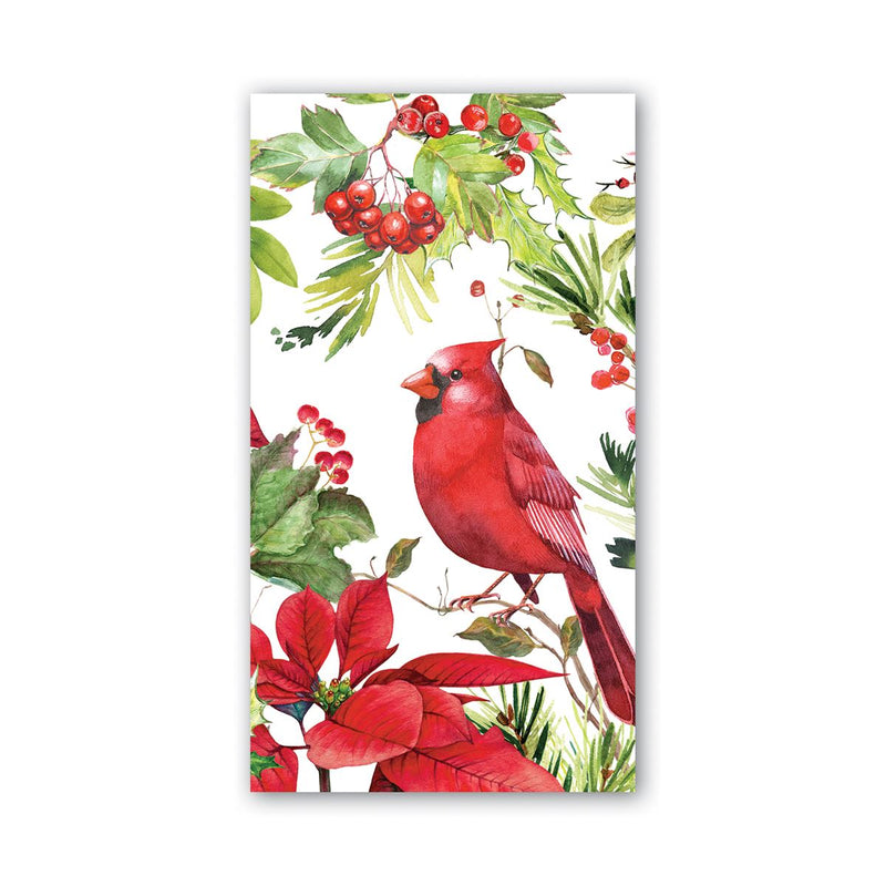 Michel Design Works Poinsettia Hostess Napkins | Putti Christmas Canada
