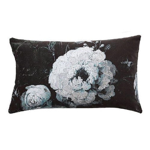 "Boho & Co ""Floralisim Velvet Moonlight Pillow 30 x 50 cm, B&C-Boho & Co, Putti Fine Furnishings"