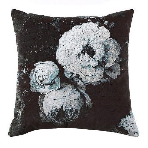 "Boho & Co ""Floralisim Velvet Moonlight Pillow 50 x 50 cm"