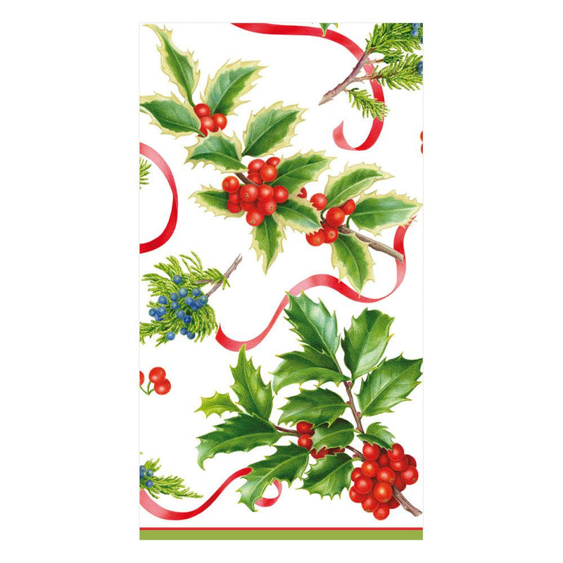 Christmas Trimmings Paper Napkin - Guest | Putti Fine Furnishings Canada