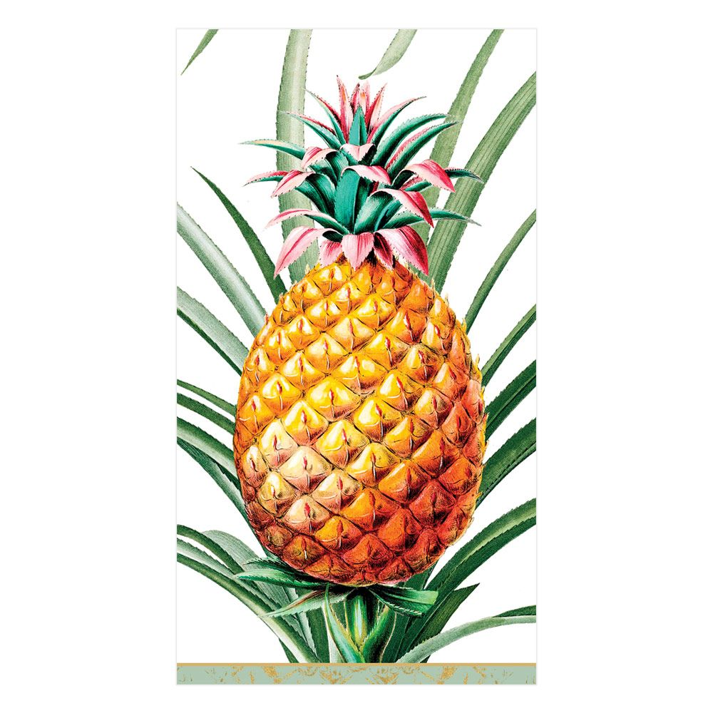 Tropical Fruit Paper Napkin - Guest