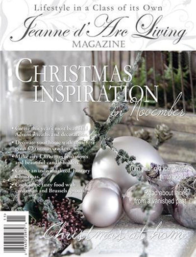 Jeanne d'Arc Living Magazine November 2014 11th edition, Jeanne d'Arc Living, Putti Fine Furnishings